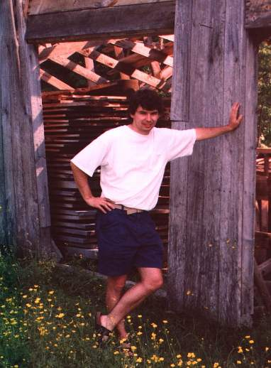 Me by the sawmill